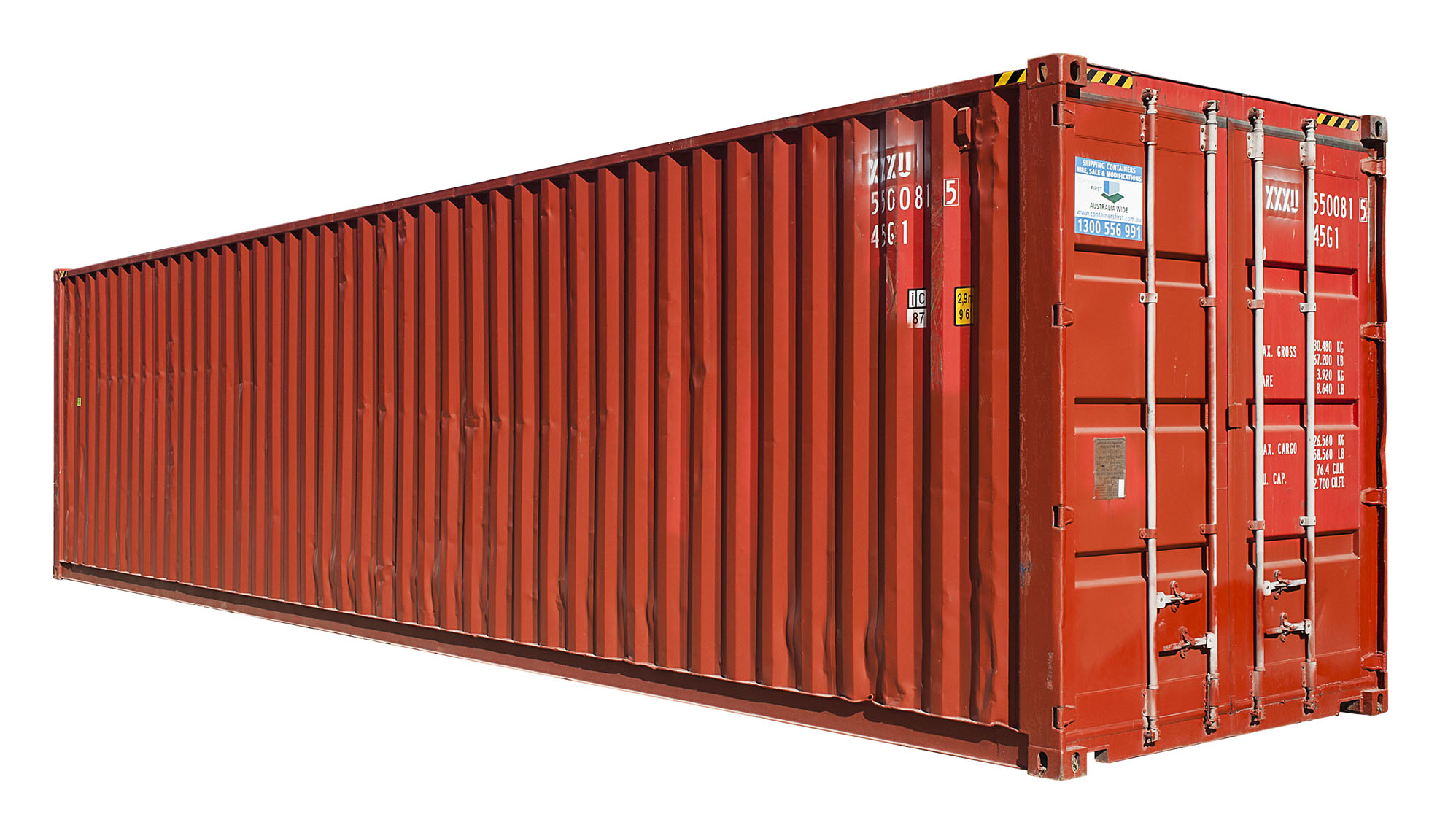 Lightweight shipping container